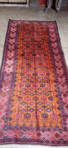 COLLECTORS' PIECE Antique Madad Khani Tribal Carpet,Vintage Size Sistan Ziarat R