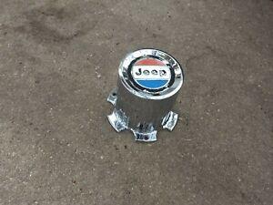 1980-86 Jeep Grand Wagoneer, J10 truck hubcap, center cap for aluminum rim