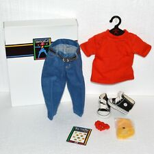 American Girl Blue Jean Basics Outfit Pleasant Company Complete NIB 80's Style