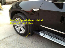 FOR BMW X5 E70 2008 - 2013 Car Front & Rear Molded Splash Guards Mud Flaps 4pcs