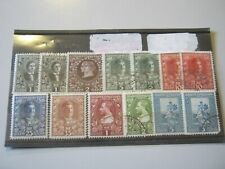 MONTENEGRO 1910 13 MINT HINGED & USED STAMPS FROM THIS ISSUE