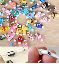 2pc MIX lovely Protector Saver Cover For Apple iPhone USB Charger Cable Cord #6