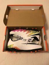 Sensations Preis! Nike Hypervenom Fußballschuhe Leder Stollen Weiß Gr 36 NEU