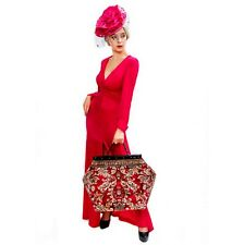 MARY POPPINS LARGE VICTORIAN-STYLE CARPET BAG. NEW.