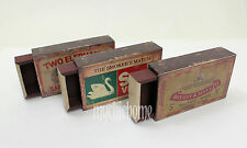 Match Box Storage Boxes - Vintage Novelty | Trinket
