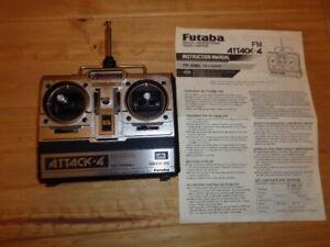 Vintage Futaba Challenger FP-T4NBL 35 MHz FM 4-Ch Transmitter Radio Controller