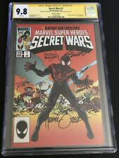 Secret Wars 1 Miles Morales CGC 9.8 3x SS Zeck Beatty Shooter Heroes Con Signed