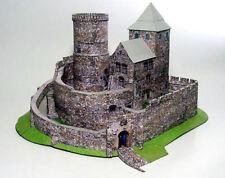 BEDZIN  medieval castle, Poland, paper model kit 1:160 N scale