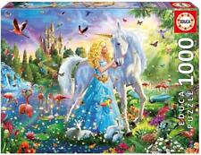 EDUCA PUZZLE THE PRINCESS AND THE UNICORN ADRIAN CHESTERMAN 1000 PCS  #17654