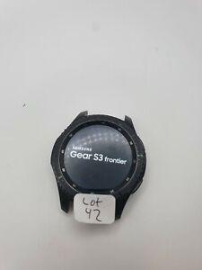 Samsung - Gear S3 Frontier Smartwatch 46mm - Dark Gray SM-R760NDAAXAR