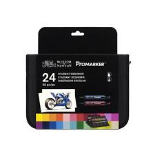 Winsor & Newton Promarker - 24 Student Designer Wallet Set