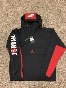 Nike Men's Air Jordan Jumpman Classics Windbreaker Jacket CV1864-010 Size S