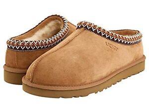 NEW UGG Mens Tasman 5950-Chestnut Slipper Shoes Sandals Clog Water Resistant-NIB