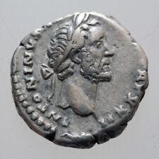ROMAN SILVER DENARIUS COIN ANTONINUS PIUS 138-161 AD ROME