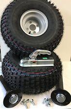ATV Trailer/Quad Kit,ATV Tyres/Wheels 100pcd, Knott 750k Hubs &Stubs and hitch