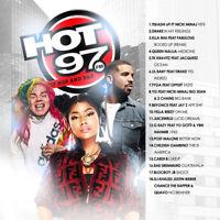Hot 97 Hip Hop & R&B July 2018 (Mixtape) CD Album Rap Trap PA Hip Hop RnB RB