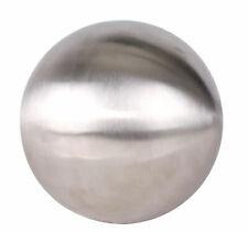 Dekokugel Edelstahl matt gebürstet - 30 cm - Schwimmkugel Kugel Edelstahlkugel