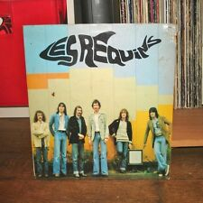 LES REQUINS - Moto Punk LP Rare French Rock Prog Le Calumet