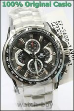 EF-560D-1A Casio Watches Edifice Black Chronograph Features Date Tachymeter New