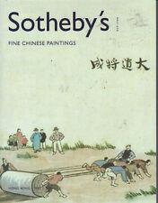 SOTHEBY'S HK CHINESE PAINTINGS Li Fengmian Zhang Daqian Auction Catalog 2005