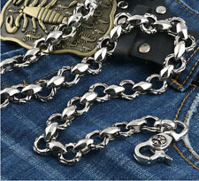 Divide into two classes Gothic Jean Wallet Key Chain 06