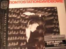 DAVID BOWIE STATION TO STATION RARE JAPAN Replica TO ORIGINAL LP IN A OBI CD