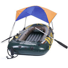 Inflatable boat Sun Shelter Fishing Boat Awning Tent Rubber Boat for 2 person