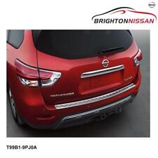 New Genuine Nissan Pathfinder Chrome Rear Bumper Protector T99B19PJ0A RRP $352