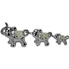 Elephants Silver Decorative Ornaments & Figures