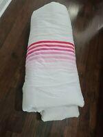 Pottery Barn Teen flour shop rainbow Pink Ombre FULL QUEEN comforter F/Q New