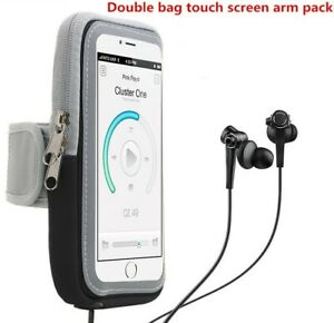 Waterproof-Armband-Case-For-SmartPhone-Bag -Pouch-Dry-Sports-Running-Holder-GRAY