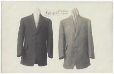 1907 Advertising REAL PHOTO - Men's Dress Coats, Clothing, Binghamton New York