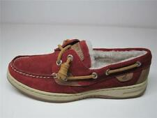 Suede Boat Flat (0 to 1/2 in.) Shoes for Women