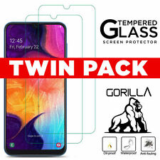 Screen Protector For Samsung A20e A50 A40 A70 A10 Tempered Glass + Clear Case