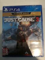 just cause 3 gold edition playstation ps4 ps 4 neuf