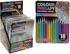 Colour Therapy 18pc Professional Artist Colouring Pencils in Tin