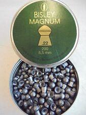 Bisley Magnum 5.5 mm/.22 X 200 perdigones £ 6.45 por el mismo día de despacho de estaño