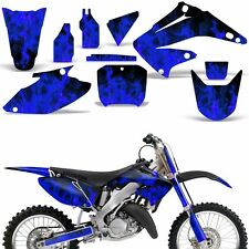 Graphic Kit Honda CR125 CR250 Dirt Bike Decal Backgrounds Sticker 02-03 ICE BLUE