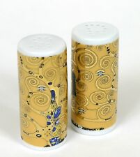 Set Salero Pimentero Merchadising Gustav Klimt Salt and Pepper Shaker Nuevo