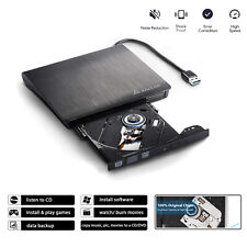 Externes DVD Combo Laufwerk USB 3.0 Portable CD DVD RW Brenner Notebook PC Slim