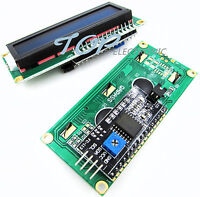 Blue Display IIC/I2C/TWI/SP​​I Serial Interface 1602 16X2 LCD Module