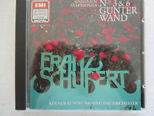 Schubert: Sinfonien Symphonies Nos 3, 6 - Günter Wand - EMI CD 1984 GERMANY