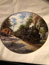 The Golden Age Of American Railroads�TheMorning Local� Hamilton Collection #2004