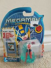 Mattel MegaMan NT Warrior ProtoSoul figure and battle chip