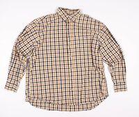 Mens Barbour Gingham Plaid Button Long Sleeve Shirt Size 5 / US 2XL XXL