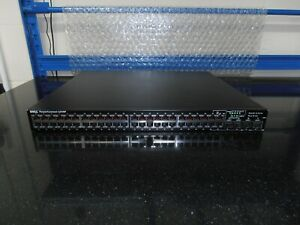 Dell PowerConnect 6248P 48-port PoE Gig Layer 3 Switch Fitted ND292 YY741 Module