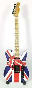 Rolling Stones Miniature Tribute Guitar with Stand - RS12