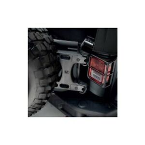 Jeep Wrangler Oversized Spare Tire Carrier Tailgate Reinforcement