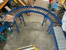 More details for conveyors 180 degree gravity conveyor with run off