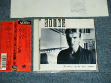 STING of POLICE Japan 1985 D25Y3276 NM CD+Obi THE DREAM OF THE BLUE TURTLES